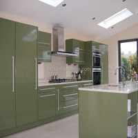 High gloss acrylic kitchen cabinet door