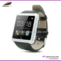"[somostel] 2015 100% Original U10 Smart Watch Mobile Phone Android 1.54"" TFT LCD Capacitive 240*240 WIFI"