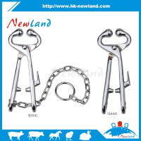 2016 NL910 hot sales new type bull nose holders with chain bull nose leaders with chain