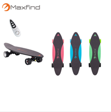 Carbon fiber mini electric skateboard sport electric hub motor pennyboard for kids and adult