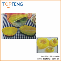 food cover with stretch edge, plastic food cover,plastic cling wrap with stretch edge,