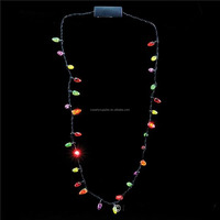 LED Flashing Necklace /Lighting Necklace /Christmas Light Up Necklace