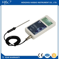 Portable digital water temperature meter , hot water temperature gauge , water heater temperature gauge