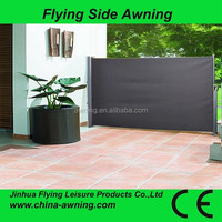 2015 kinds of side awnings -vinyl side awning /outdoor garden double sides awning/single side awning