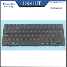 New laptop keyboard For HP Pavilion DM1-3000 Spanish Keyboard Black