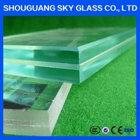12mm Milk White Laminated Glass For Sale