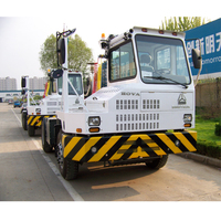 china sino hova terminal tractor truck head to transport containers