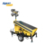 4.8M Compact Manual Mast LED Solar Lighting Tower
