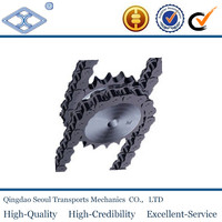06C-1 ISO ANSI standard ASA 35 3/8''*3/16 pitch 9.525 roller 5.08 34T 45C transmission hard teeth sprocket for roller chain