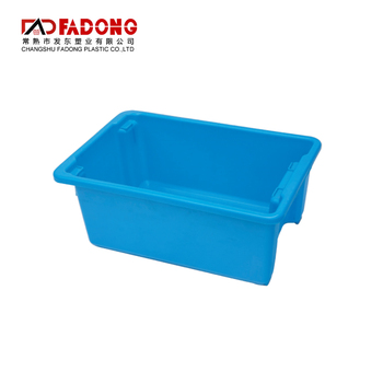 Recyclable decorative storage plastic box for fresh foods