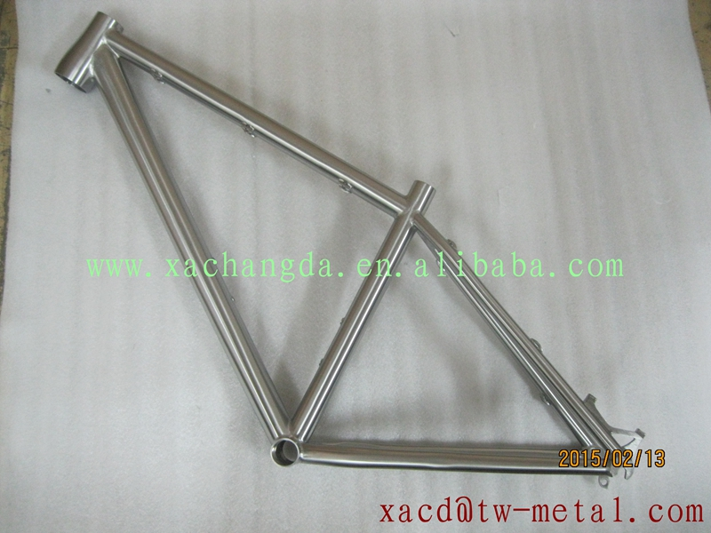 titanium mtb bike frame custom titanium bike frame titanium cyclocross bike frame