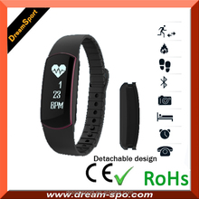 2016 Bluetooth wristband heart rate monitor with built-in optical sensor