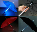 2017 Hot Sale Party Golf Unique LED Light Up Umbrella