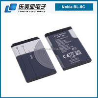 LEMEIYA BL-5C 1020mAh battery For Nokia 2700C N70 N71 N72 6670 3100 E50 3.7V