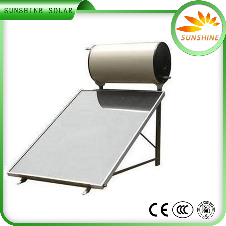 Solar Keymark Approved Solar Water Heater electric horizontal water heater