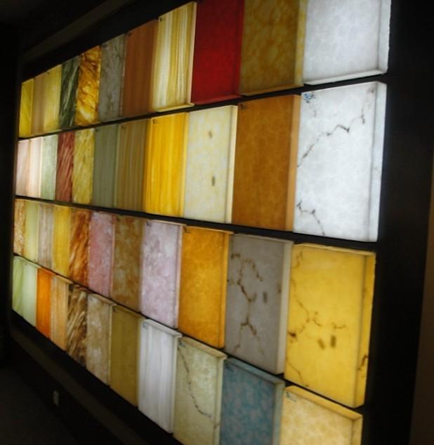 Translucent Resin Panel Maryland : Translucent acrylic resin panels nice led light