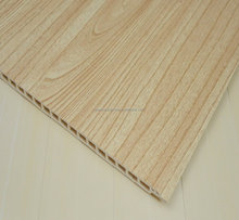 2017 Cheapest price construction material interior panels waterproof wpc wall paneling