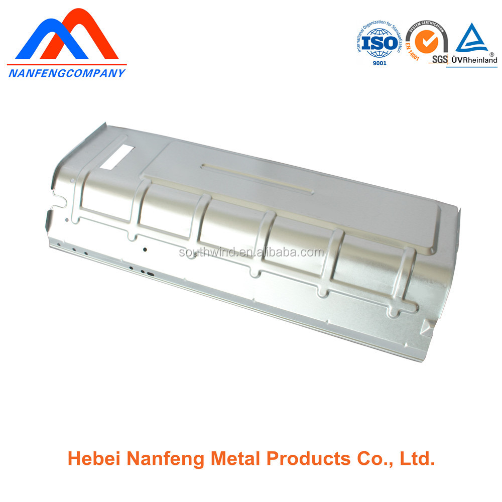Custom stamping fabrication galvanizing sheet metal auto body parts