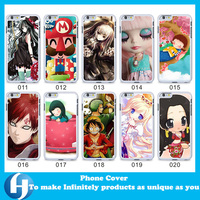 Hot Design Sublimation Aluminum Bumper Case For Iphone 6 , Custom Hard PC Back Phone Cover For iphone Factory Wholesale