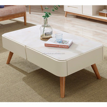 Best price wooden tea table design nordic multifunction coffee table