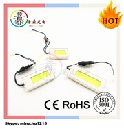 New Product Panel White COB LED Car Interior Dome Reading Light Bulbs Lamp