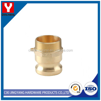 Simple to handle brass camlock coupling female coupler female thread