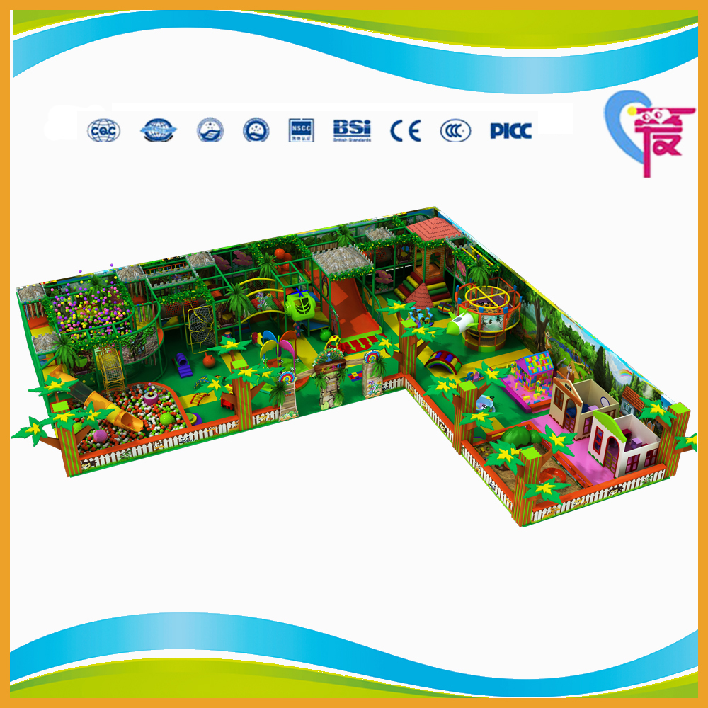 A-15327 CE Safe Cheap Kids Commercial Indoor Playground Equipment