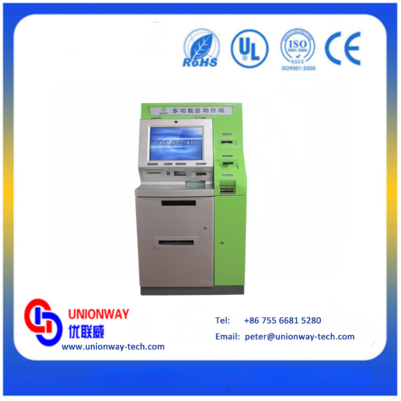 Most popular multifunction self service kiosk for payment terminal