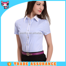 Lady formal business shirt office wear for girls