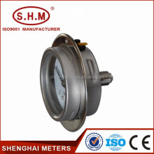 Screwed pressure gauge, bourdon tube presur meter,China supplier
