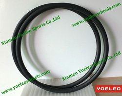 high quality bike rim 26 in carbon 22mm clincher glossy matt finish