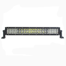 Aluminum housing straight 120w 5d led mine light bar
