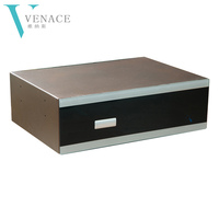 Closet metal pull out jewellery safe box