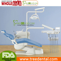 TR-D520(NEW) LED Operation Lamp,3 programs inter-lock control system,hard leather Computer Controlled,advance dental chair