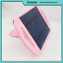 Solar power mobile charger pad colorful design 2015