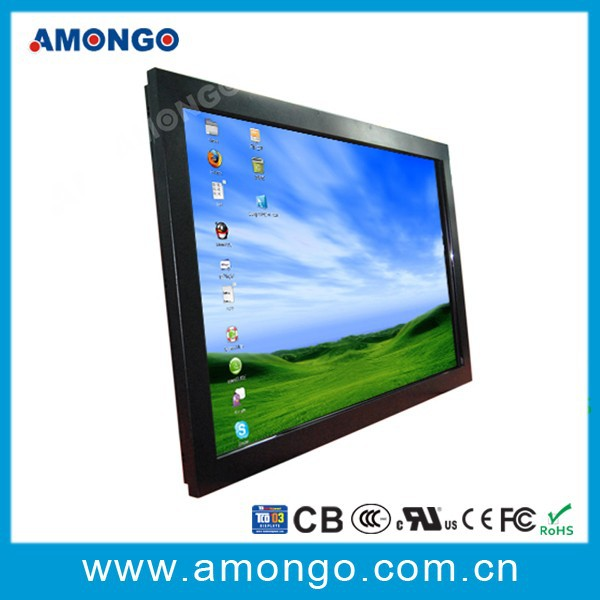 42'' Industrial LCD Monitor/display with Projective Capactive Touch Screen Panel(PCT,IR) outdoor