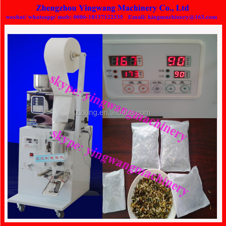 Easy type small tea bag packaging / packing sealing machine