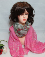 factory sell directly custom beautiful lady italian cashmere scarf