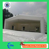 High quality inflatable log cabin tent house tent with inflatable mattress, advertising inflatable tent for exhibition