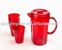 clear plastic jug,plastic water pitchers
