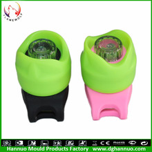 wholesale bicycle parts waterproof mini colorful led bike light silicone China supplier