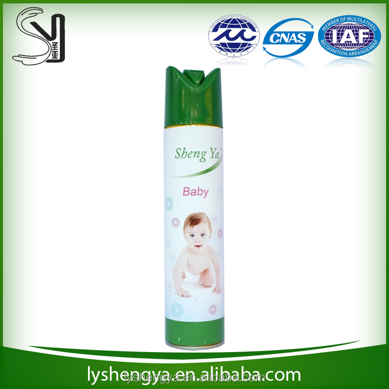 More than 20 years factory experience flower scent air freshener spray for home for car