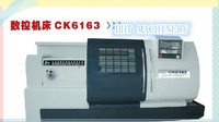 Low price cnc chinese metal flat lathe CK6163A
