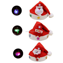 snow ground magic snowman hat shaped cutting christmas hat decoration
