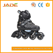 Cheap fashion street style kids roller skate shoes with light up PU LED wheel