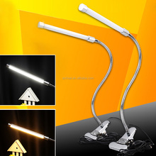 Cheapest OEM Aluminum Foldable LED USB Work Lamp flexible Clip mini LED Light