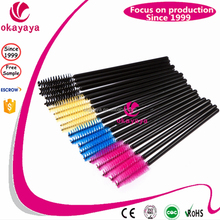 Hot Sell Eye Lashes Disposable Mascara Wand, Eyelash Extension Brush, Plastic Mascara Brush