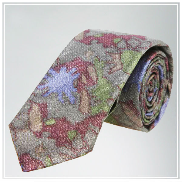 High quality custom print cotton tie factory