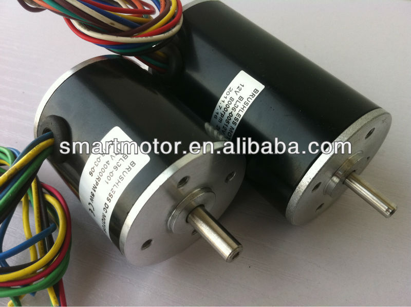 High Torque Brushless Dc Motor Size 30mm 110mm 12v 230v
