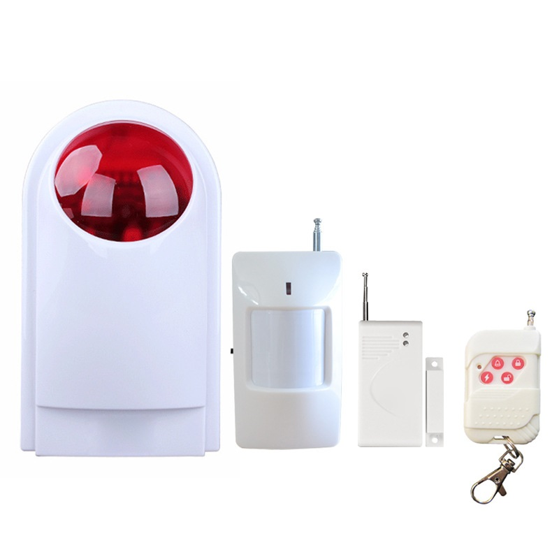 Outdoor bell flash siren for home security Burglar alarm system